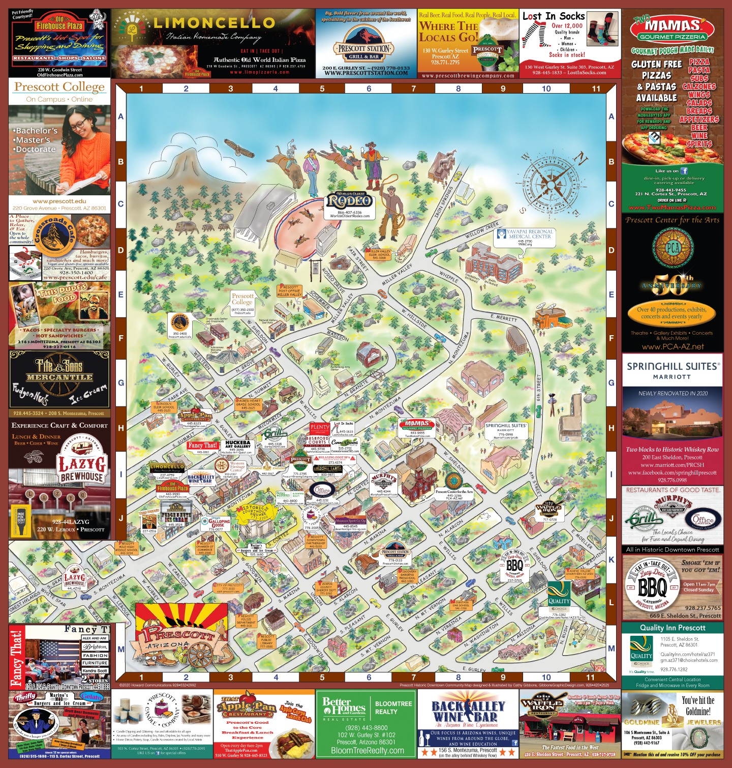 2014-15 Prescott Historic Community Map